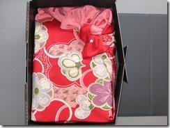 結婚式にご両親様にプレゼント 体重米の風呂敷包み