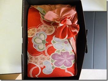 出産内祝い米 風呂敷包みバージョン