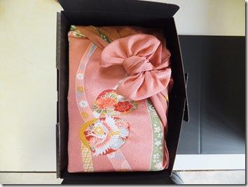 体重米 風呂敷包み